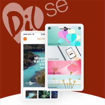 Social Networking App for Greeting Cards