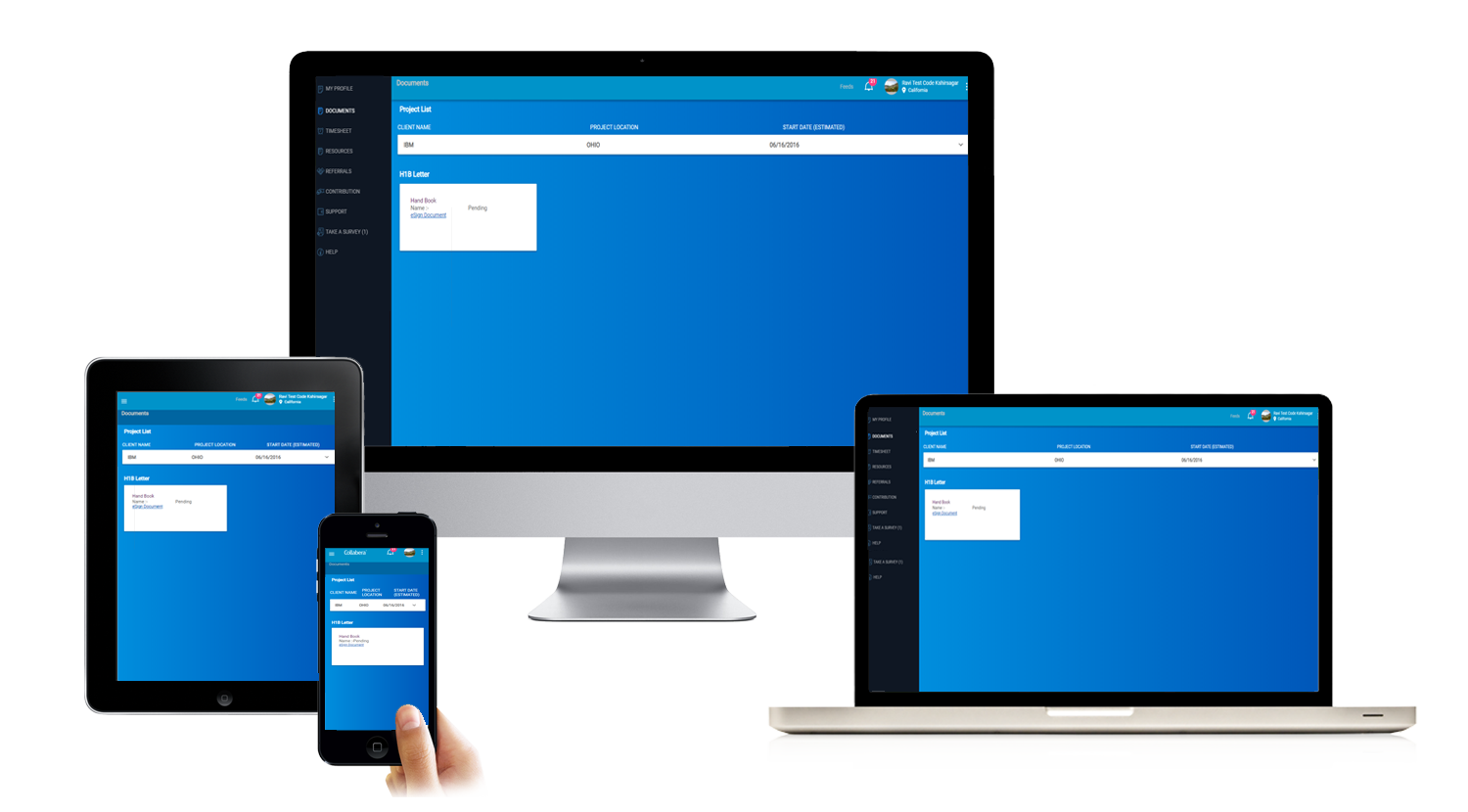 Employee and Timesheet Management Application